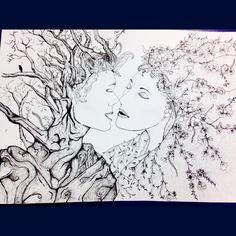 "Art igcse 2014 - theme ""branch and blossom"""