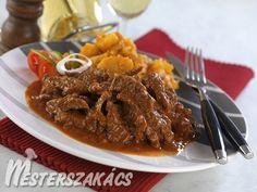 Borsos tokány Beef, Dishes, Food, Meat, Tablewares, Essen, Meals, Yemek, Dish