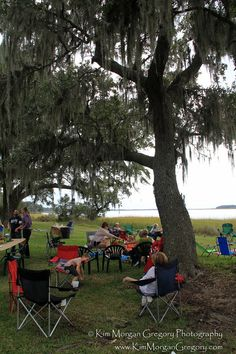 CHARLESTON MUSEUM ANNUAL PICNIC 2015 | DILL SANCTUARY | A perfect Low Country outing! FANS of the Charleston Museum create a wonderful family time spent along the Stono River at Dill Sanctuary.  Birds of Prey demonstration & release, Face-painting by Ms. Faith, beverages by Palmetto Brewing, a butterfly release by naturalist Billy McCord, a SCDNR touch tank, children's games & activities, food by the Marina Variety Store