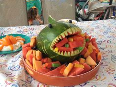Watermelon Whale for octonauts party