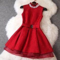 Beaded organza dress AB830J