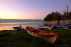 Resting Boats - Gölyazı (Apolyont Lake) https://www.facebook.com/photobgraphy https://instagram.com/oguzbuktel/