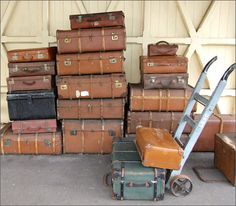 Uses for Old Suitcases