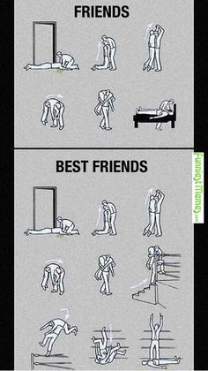 Funny Memes - [Main Difference Between Friends And Best Friends]