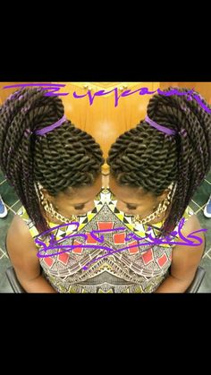 Ropes!! Rope Twist, Great Hair, Ropes, Crochet Necklace, Fashion, Moda, Fashion Styles, Fashion Illustrations, African Braids