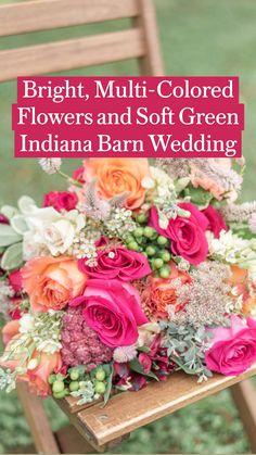 Beautiful Flower Arrangements, Floral Arrangements, Beautiful Flowers, Table Arrangements, Barn Wedding Venue, Wedding Table, Our Wedding, Wedding Ideas, Flower Bouquet Wedding