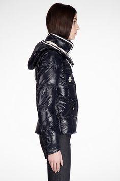 Moncler Aubert Euramerican Style Jacket Men Zip Hooded Black Sale ... 9bf5e478200