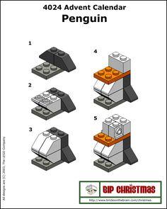 Constructie: lego pinguin