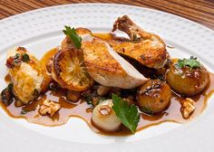 Dates And Olive Roast Chicken
