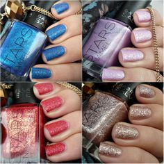 Malý koutek krásy: Gabriella Salvete STARS Enamel - Blu Imperiale, Lavender Love, Natale Flower, Brown Sugar :)