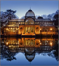 items » LANDSCAPE URBAN LANDSCAPE » El Palacio de Cristal al atardecer, Retiro Park, Madrid, Spain.BuySaveThis item was saved to your lightbox. 0 people like this DetailsFile ID: 5088File Type: image/jpegFile Size: 230.65 KbCollections: LANDSCAPE URBAN LANDSCAPE Keywords: agua art art styles arte blue clasico classic color colour concepts crepusculo crystal palace destino turistico dusk …