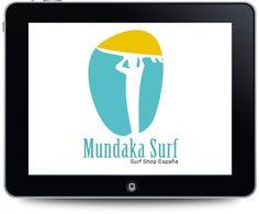 Diseño de imagen visual para Mundaka Surf Shop