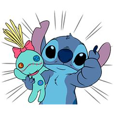 Get ready for fun times with Stitch and his pal Scrump the Doll! Watch this mischievous little guy play out his adventures with Scrump all through your chats! Scrump Lilo And Stitch, Stitch Disney, Lilo And Stitch Drawings, Lilo And Stitch Quotes, Cute Disney Wallpaper, Wallpaper Iphone Cute, Cute Wallpapers, Toothless And Stitch, Stitch And Angel