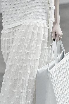 pivoslyakova: Detail at Chanel | Spring 2014