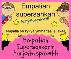 Tunnetaidot Finnish Language, Social Skills For Kids, Occupational Therapy, Mindfulness, Teacher, Education, Learning, School, Peda