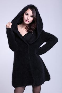 awesome 2013new autumn and winter women s mink sweater nobility marten  velvet overcoat with a large hood 9ff769aeeb25