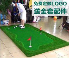 3 M x 1 M manta de ejercicios de Golf Putting Green de Golf Training Aids Mini golf accesorios