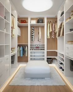 14 Walk In Closet Designs For Luxury Homes This is the one! Walk In Closet Design, Bedroom Closet Design, Master Bedroom Closet, Closet Designs, Bedroom Decor, Master Room Design, Closet Walk-in, Closets, Closet Small