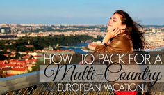 how-to-pack-for-a-multi-country-european-vacation in early spring or fall