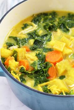 Happy New Year! Most of us are likely starting to feel the sugar crash of the holidays coming on. Thus my first recipe of Detox Turmeric Chicken Soup! It's anti-inflammatory detoxifying and paleo AIP and whole 30 compliant. Detox Recipes, Paleo Recipes, Soup Recipes, Cooking Recipes, Clean Eating, Healthy Eating, Paleo Chicken Soup, Paleo Soup, Detox Chicken Soup
