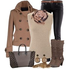 """Terracotta Scarf"" by nemommy81 on Polyvore"