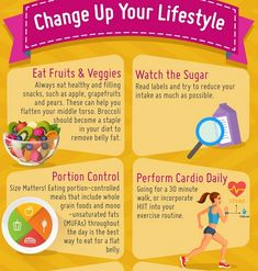 Infographic: Tips For Attaining A Flat Stomach, What To Eat And Do To Burn Fat -. - Health and fitness Lose Tummy Fat, Lose Fat, Lose Weight, Diet Plan Menu, Keto Diet Plan, Flat Stomach Tips, Flat Abs, Flat Tummy, Food Portions