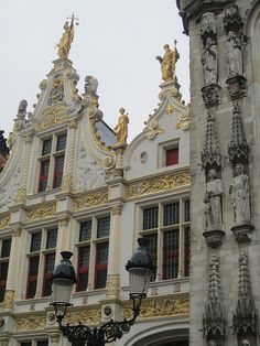 Sculpture and gilding, Stadhuis detail, Bruges, Belgium | by Paul McClure DC, via Flickr