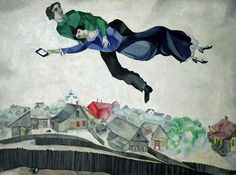 Over The Town – Marc Chagall