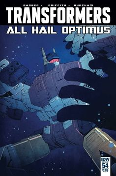 Transformers (2011) Issue #54