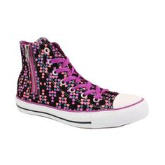 2165cd070911d Converse All Star Side Zip Leopard Zapatillas Deportivas de Lona para Mujer   Amazon.es  Zapatos y complementos