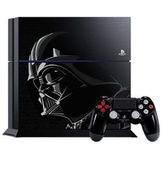 This special edition Darth Vader Play Station 4 is perfect for gamers who love Star Wars