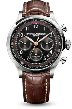 Capeland 10067 automatic chronograph, designed by Baume et Mercier