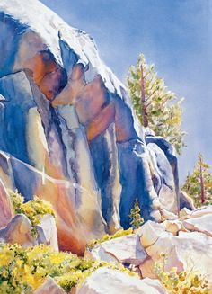 """The Cliff"" by Rosanne Seitz."