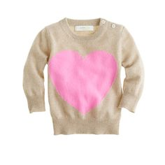 outrageously priced baby heart sweater, i die