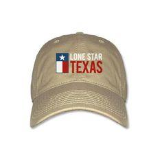 Lone Star Texas - Khaki Cap [5345CPKH] : Outhouse Designs Screen Print T-shirt Store, Keep Austin Weird!