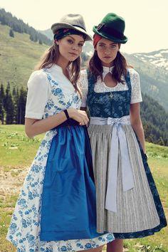 Blusendirndl - Marine - sportalm.at | Sportalm Dirndl Dress, Casual, Traditional, Sewing, Austria, Beauty, Vintage, Core, Germany