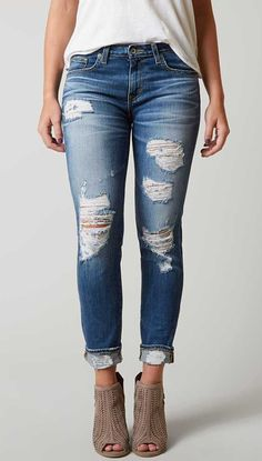 Big Star Vintage Maddie Ankle Skinny Stretch Jean - Women& Jeans in 14 Year Callie Stretch Jeans, Buckle Jeans, Women's Jeans, Ripped Jeans, Denim And Diamonds, Best Jeans, Skinny, Jean Outfits, Boyfriend Jeans