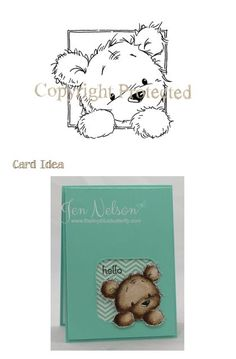 *Stamp* - James - Peeping-  for birthday card valley stamp, peep, card inspir, jame, dibujo liliofthevalley