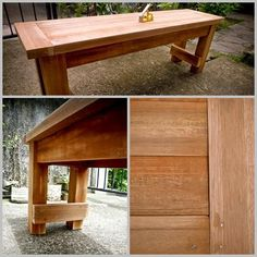 Farmhouse Bench | Do It Yourself Home Projects from Ana White