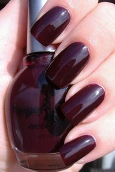 Superstar Nail Lacquer Posh Plum