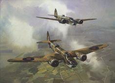 Bristol Blenheim MK IV - Artist Michael Turner