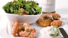 Jomfruhummerhaler med salat og aïoli | Ugebladet SØNDAG