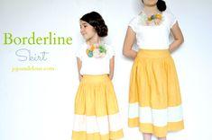How to make a Borderline Skirt