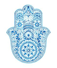 """Imagens, fotos stock e vetores similares de Color Hamsa hand drawn symbol with mantra OM. Decorative pattern in oriental style for the interior decoration and henna drawings. The ancient sign of """"Hand of Fatima"""". Hamsa Hand Tattoo, Hamsa Art, Ganesh Tattoo, Yoga Tattoos, Hand Tattoos, Tatouage Main Hamsa, Hand Der Fatima, Hamsa Design, Pink Drinks"""