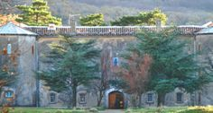 Hotellerie-de-la-Sainte-Baum where I want to stay when I visit Mary Magdalen's cave. It's run by the Dominicans.