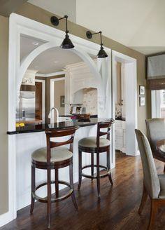 Kitchen Design: Form and Function - Dura Supreme White Kitchen by  Lindsey Markel of Dillman & Upton, Rochester, MI