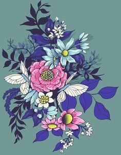 Make a floral patter