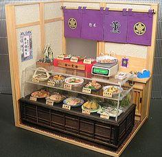 といといのミニチュア【和の惣菜屋さん 1】