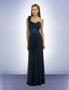 9e82f052655 Bill Levkoff One Shoulder Bridesmaid Dresses