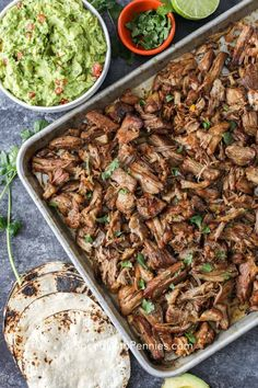 Slow Cooker Carnitas, Pork Carnitas Recipe, Crockpot Carnitas Recipes, Pork Carnitas Tacos, Crockpot Meals, Authentic Mexican Recipes, Easy Mexican Food Recipes, Healthy Recipes, Appetizers